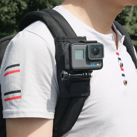 Sport Camera Backpack Clip Mount