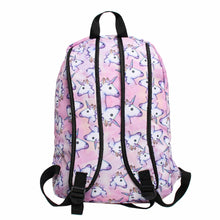 Load image into Gallery viewer, 3PCS /set Women Printed Unicorn Backpack - Zalaxy