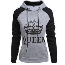 Load image into Gallery viewer, Couple Hoodie Queen King Print - Zalaxy