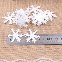 Load image into Gallery viewer, 100pcs Snowflake Winter Home Decoration - Zalaxy