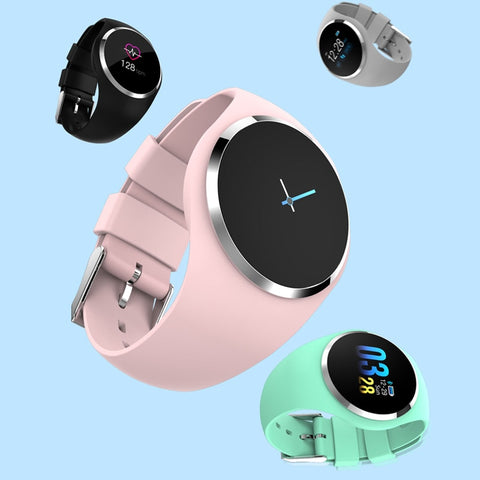 Female Fitness Smart Watch Women Running Heart Rate Monitor - Zalaxy
