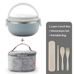 Thermal For Food Bento Box Stainless Steel