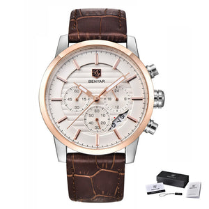 Luxury Business Quartz Watch - Zalaxy