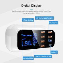 Load image into Gallery viewer, Quick Charge 3.0 Smart USB Type C Charger Station