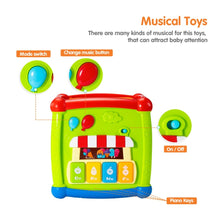 Load image into Gallery viewer, Multi-Functional Musical Activity Cube Toy
