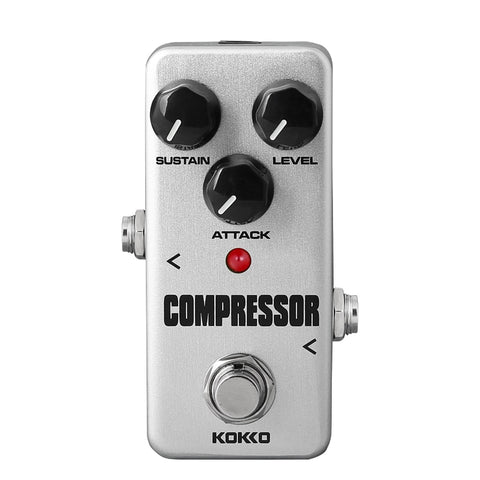 Mini Compressor Pedal Portable Guitar Effect