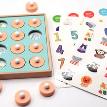 Load image into Gallery viewer, Kids Wooden Memory Match Chess Game
