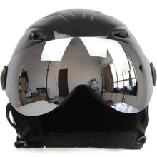 Load image into Gallery viewer, Winter Warm Fleece Ski Helmet With Goggles