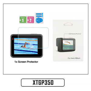 Tempered Glass Lens + LCD Screen Protector