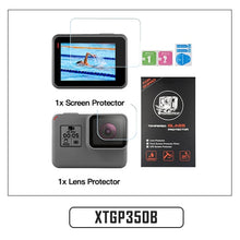 Load image into Gallery viewer, Tempered Glass Lens + LCD Screen Protector