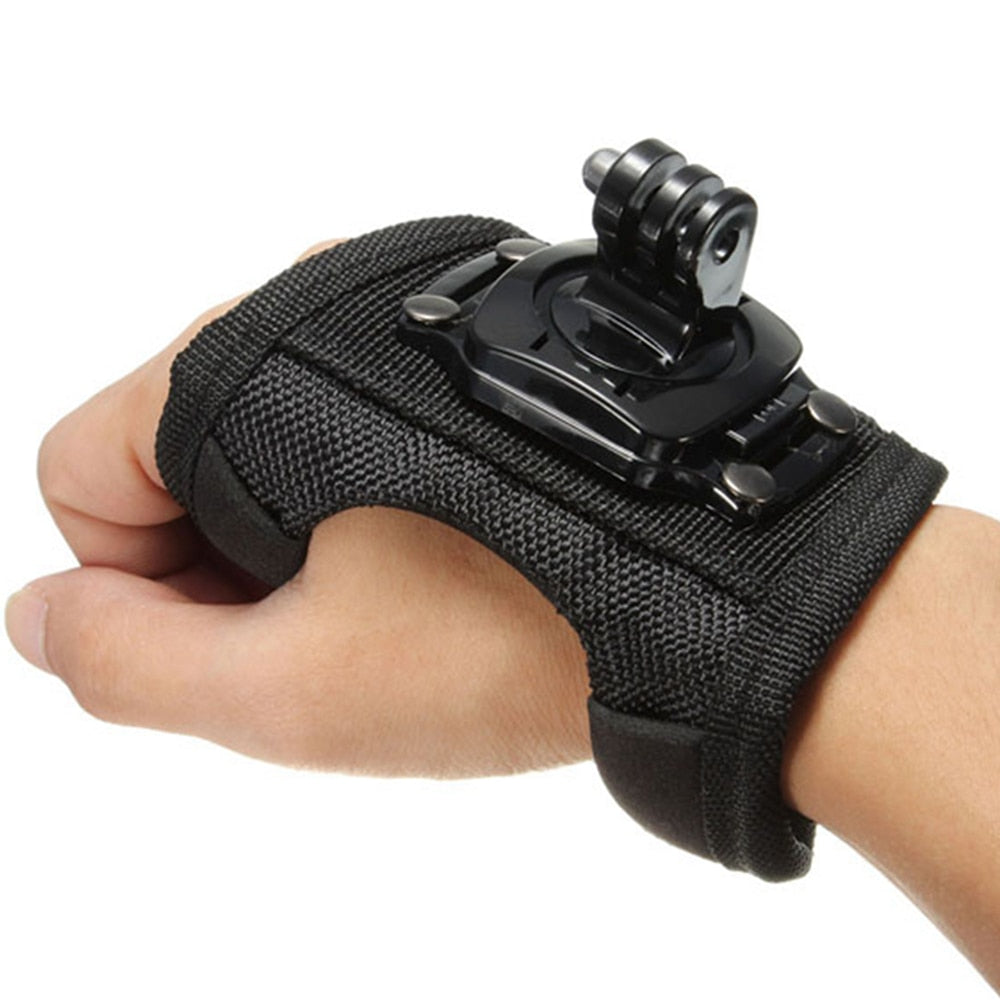 360 Degrees Wrist Strap Belt Tripod Mount - Zalaxy
