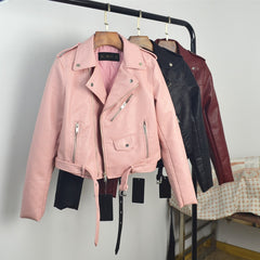 Women Faux Soft Leather Jacket