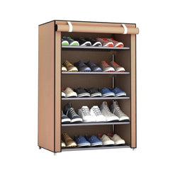 Non Woven Fabric Simple Shoes Rack
