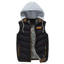 Load image into Gallery viewer, Men's Hoodies Thick Vest