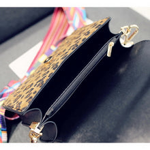 Load image into Gallery viewer, Women's Fashion Crossbody Panelled Pu Leather Bag