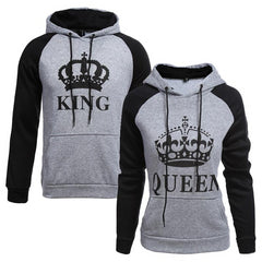Couple Hoodie Queen King Print