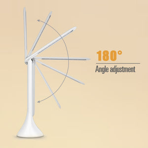 Foldable Dimmable Touch Table Lamp with Calendar