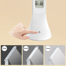Load image into Gallery viewer, Foldable Dimmable Touch Table Lamp with Calendar