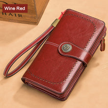Load image into Gallery viewer, Women Zipper Purse Money Wallet