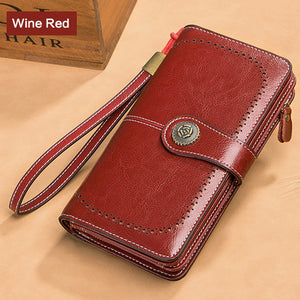 Women Zipper Purse Money Wallet