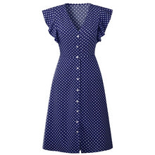 Load image into Gallery viewer, Polka Dot Dress For Women