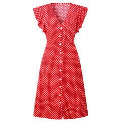 Polka Dot Dress For Women