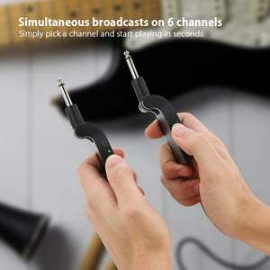 2.4G Wireless Guitar Transmitter - Zalaxy