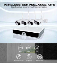 Load image into Gallery viewer, Wireless CCTV 1080P 1TB HDD 2MP IP Security System Video Surveillance Kit