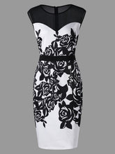 Load image into Gallery viewer, Formal Bodycon Dress Plus Size - Zalaxy