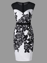 Formal Bodycon Dress Plus Size