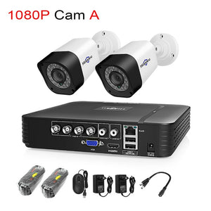 Camera 2MP P2P Security Surveillance Set