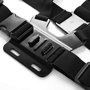 Action Camera Chest Mount Strap - Zalaxy