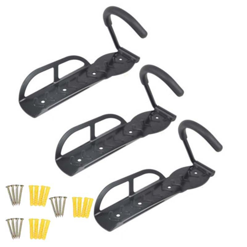 3 PCS Bike Wall Mount Stand Holder - Zalaxy