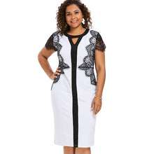 Load image into Gallery viewer, Plus Size Bodycon Dress