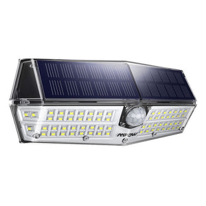 66 LED Solar Motion Sensor 3 Lighting Modes - Zalaxy