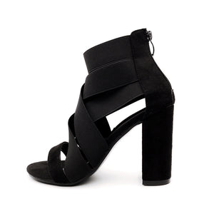 Gladiator Sandals Boots Fashion Women High Heels - Zalaxy