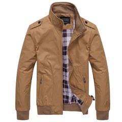 Spring Autumn Casual Coats Male Bomber Jackets