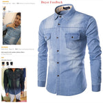 Denim Shirt Long Sleeve