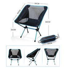 Load image into Gallery viewer, Portable Camping Beach Chair Lightweight