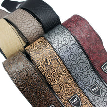 Load image into Gallery viewer, PU Leather Guitar Strap
