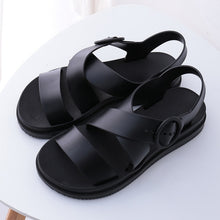 Load image into Gallery viewer, Women High Heels Plus Size Ankle Strap Shoes