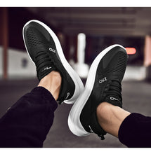 Load image into Gallery viewer, Men's Fly knit Sweat-Absorbent Fashion Sneakers - Zalaxy