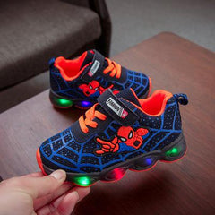 Boys Spider Man LED Sneaker