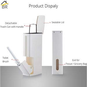 Bathroom Waste Bin - Zalaxy