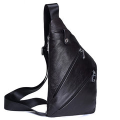 Men Leather Messenger Bag
