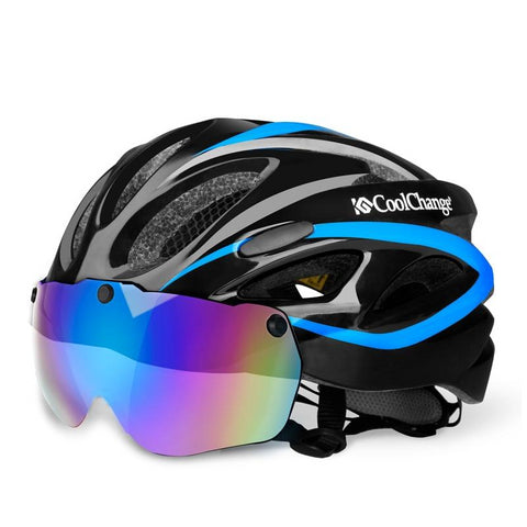 Bicycle Helmet EPS Insect Net Road MTB Bike Windproof Lenses
