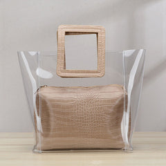 Women Large Clear Tote Bags