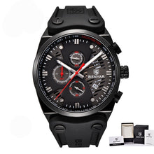Load image into Gallery viewer, Men's Luxury Waterproof Sport Watches With Leather Band - Zalaxy