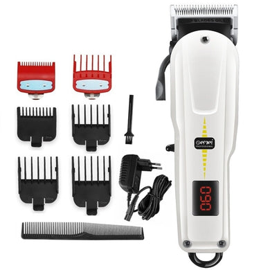 Barber Hair Clipper Cordless Hair Beard Trimmer For Men - Zalaxy