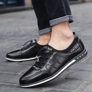 Men's Casual Breathable Mesh Low Lace-up Canvas Shoes